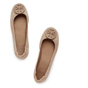 Tory Burch Foldable Minnie Travel Ballet Flats 8.5